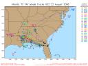 Tropical Storm Fay Spaghetti Model 0822 00Z