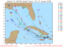 Tropical Storm Gustav Spaghetti Model 0827 12Z
