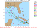 Tropical Storm Gustav Spaghetti Model 0827 18Z