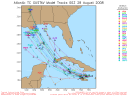 Tropical Storm Gustav Spaghetti Model 0828 00Z