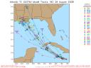 Tropical Storm Gustav Spaghetti Model 0828 18Z