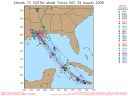 Tropical Storm Gustav Spaghetti Model 0829 00Z