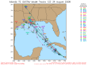 Tropical Storm Gustav Spaghetti Model 0829 12Z