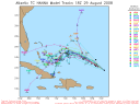Tropical Storm Hanna Spaghetti Model 0829 18Z