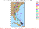 Hurricane Hanna Spaghetti Model 0901 18Z