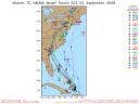 Hurricane Hanna Spaghetti Model 0902 00Z