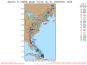 Tropical Storm Hanna Spaghetti Model 0902 12Z