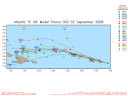 Tropical Storm Ike Spaghetti Model 0902 00Z
