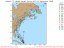 Tropical Storm Hanna Spaghetti Model 0903 00Z