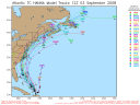 Tropical Storm Hanna Spaghetti Model 0903 12Z