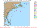 Tropical Storm Hanna Spaghetti Model 0903 18Z