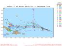 Tropical Storm Ike Spaghetti Model 0903 00Z