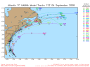 Tropical Storm Hanna Spaghetti Model 0904 12Z