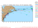 Tropical Storm Hanna Spaghetti Model 0905 12Z