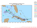 Hurricane Ike Spaghetti Model 0907 00Z