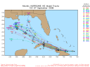 Hurricane Ike Spaghetti Model 0907 12Z
