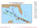 Hurricane Ike Spaghetti Model 0908 00Z