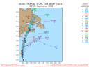 Tropical Storm Kyle Spaghetti Model 0926 18Z