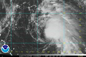 Tropical Storm Kyle Visible Satellite 0926 1515Z