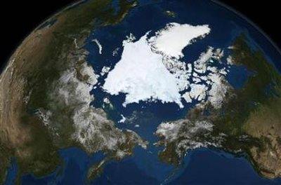 Arctic Ice Began Growing Again 09.12.08