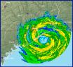 Hurricane Ike Radar Image At Landfall