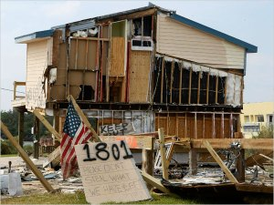Seabrook, TX Folks Try Sympathy Plea With Low-Life Looters