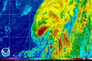 Hurricane Omar 1017 0445Z