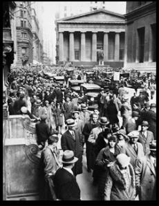 1929 Wall Street Panic