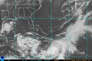 Atlantic IR Satellite 1014 2015Z