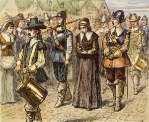 Mary Dyer Taking Her Turn At the Gallows