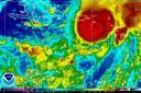 Hurricane Omar Satellite 1016 0145Z
