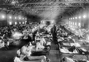 Spanish Flu Ward 1918