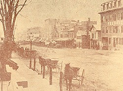 Unsuspecting Town Before Confederate Raid