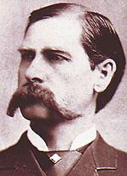 I always Wanted a Moustache Like Wyatt Earp