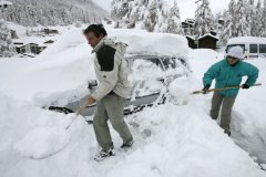 Big Early Snow in Alps Despite Global Warming