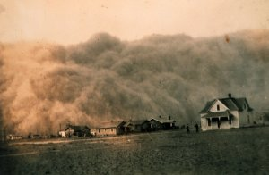 1935 Texas Dust Storm, Proof That Droughts are Not New