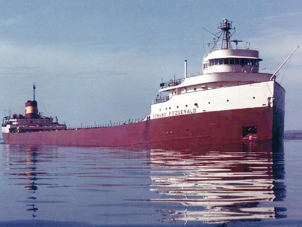 EDMUND FITZGERALD, Hot news of day