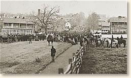 Leaving Gettysburg For the Cemetery