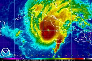 Hurricane Paloma IR Satellite 1108 1545Z