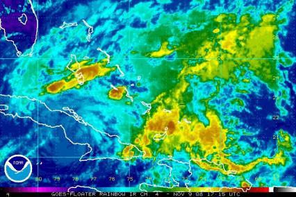 Paloma 1109 IR Satellite Image 1715Z