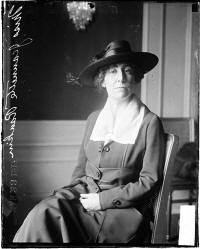 Rep. Jeanette Ranking in Chicago 1917