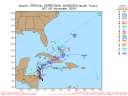 Tropical Depression 17 Spaghetti Model 1106 00Z