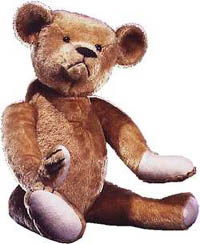 Michtom's Original Teddy Bear In Smithsonian