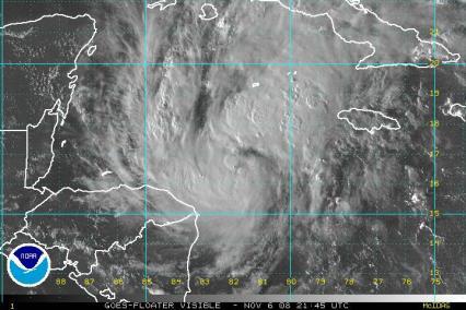 Tropical Storm Paloma Vis Sat 1106 2145Z