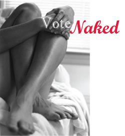 Hankies keep nudist their