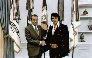 Elvis Admired Nixon Who Was A Skeptic