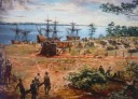 1st Colonists in Jamestown
