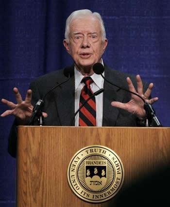 Did Carter See Space Aliens?