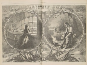 Melancholy Nast Christmas Eve 1862
