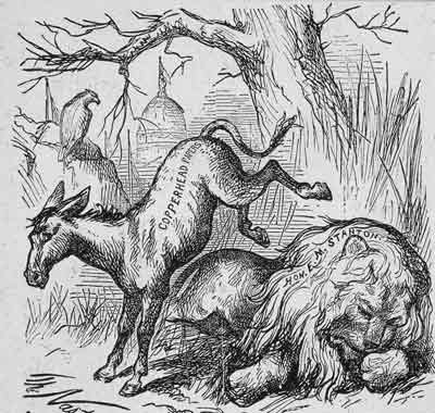 Nast's First Use of Donkey